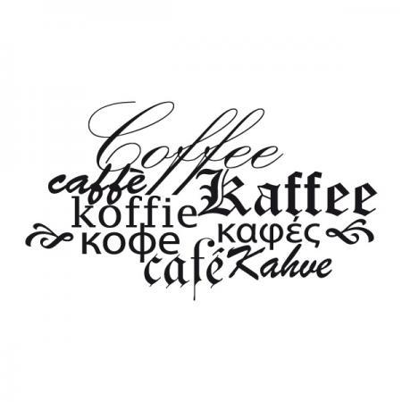 Kaffee International - Wandtattoos