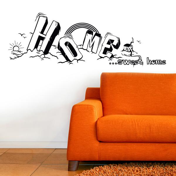 Home sweet Home Wandsticker